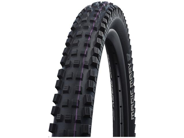 """SCHWALBE Magic Mary Super Downhill Evolution Folding Tyre 27.5x2.60"""" TLE E-50 Addix Ultra Soft black"""